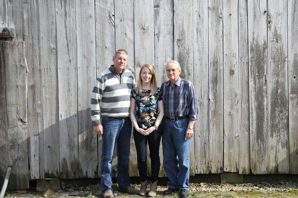 Three generations of manufacturing. Ken Bokor, Randi Bokor & Mike Bokor